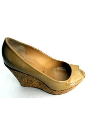 Kadın Vizon Dolgu Topuk Ayakkabı KRNVL1894