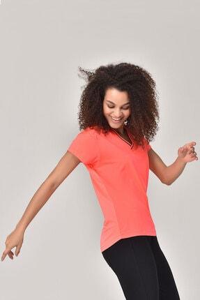 bilcee Kadın Pembe T-Shirt GS-8029 2