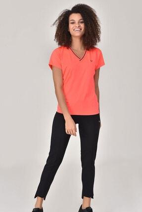 bilcee Kadın Pembe T-Shirt GS-8029 3