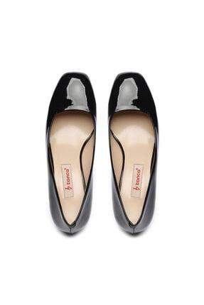 Kemal Tanca Kadın Siyah Vegan Ayakkabı Ayakkabı 22 8064 Bn Ayk Sk20-21 3