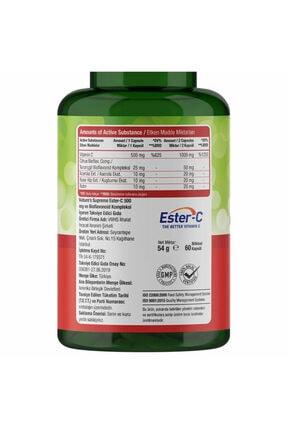 Natures Supreme Ester-c 500 Mg C Vitamini 60 Kapsül 2