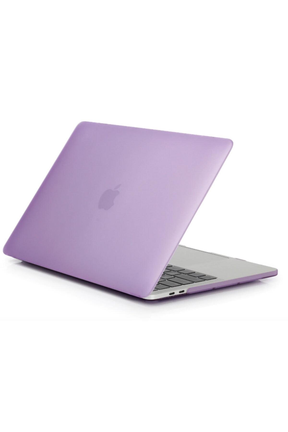 Mor Apple Macbook Pro 2020 Model A2338 13 Inç Sert Kapak Koruma Kılıf
