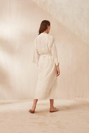 Nocturne Kadın Ekru Kimono 2