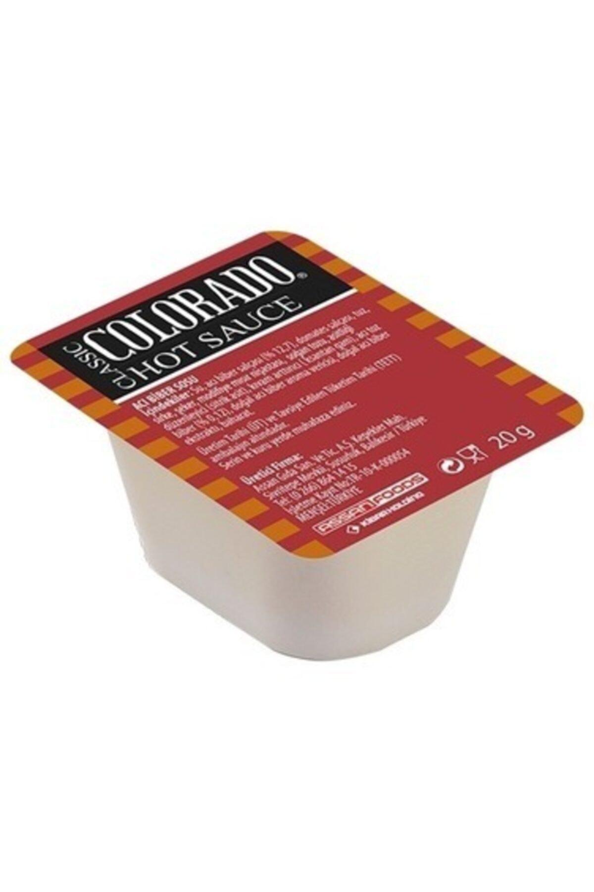 Küvet Acı Biber (Hot Chili) Sosu 20 gr*120