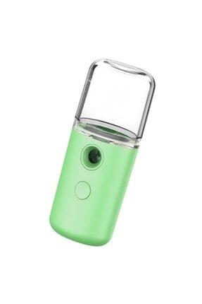 Ally Mobile Nano Mist Sprey Yüz Nemlendirici Ve Gözenek Açıcı Soğuk Buhar Yeşil 0