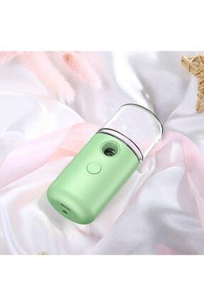 Ally Mobile Nano Mist Sprey Yüz Nemlendirici Ve Gözenek Açıcı Soğuk Buhar Yeşil 1