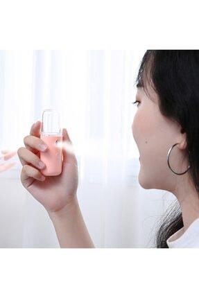 Ally Mobile Nano Mist Sprey Yüz Nemlendirici Ve Gözenek Açıcı Soğuk Buhar Yeşil 2