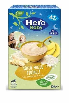 Hero Baby Gece Sütlü Muzlu Pirinçli 200 gr 0