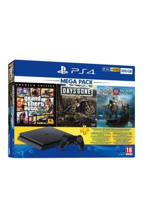 Sony Playstation 4 Slim 500 GB Mega Pack + PS4 Borderlands 3 Hediye (Eurasia Garantili) 1