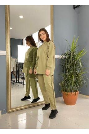 Loreen Basic Eşofman Takımı Çağla Yeşili 1