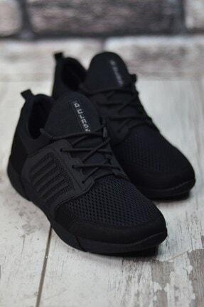Riccon Siyah Siyah Sportz Erkek Sneaker 3