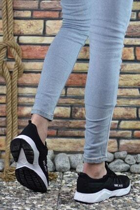 Riccon Siyah Beyaz Unisex Sneaker 3
