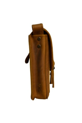 Leathertica Unisex Kahverengi Çanta 2