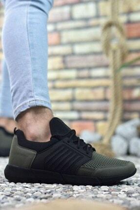 Riccon Haki Erkek Sneaker 0012105 3
