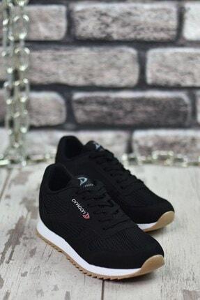 Riccon Siyah Beyaz Krep Unisex Sneaker 00121057 4