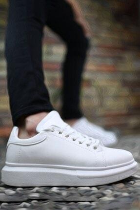 Riccon Beyaz Beyaz Erkek Sneaker 0012360 3