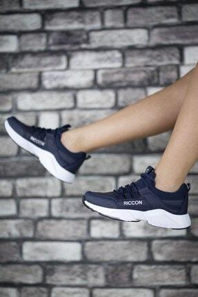Riccon Unisex Lacivert Beyaz1 Cilt Unisex Sneaker 0012072 1