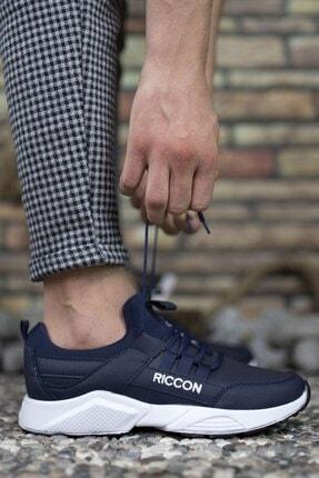 Riccon Unisex Lacivert Beyaz1 Cilt Unisex Sneaker 0012072 4