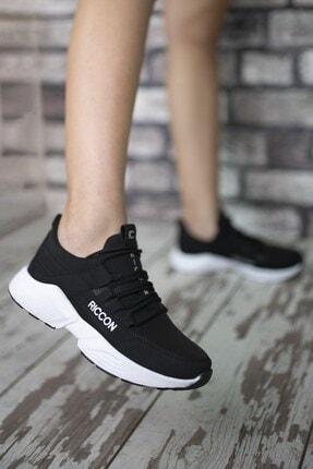 Riccon Unisex Siyah Beyaz1 Cilt Sneaker 0012072 4