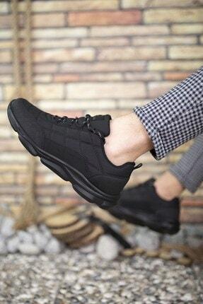 Riccon Siyah Siyah Erkek Sneaker 00121310 1