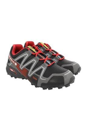 Jump Erkek Siyah Bağcıklı Outdoor  Ayakkabı 0