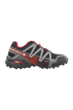 Jump Erkek Siyah Bağcıklı Outdoor  Ayakkabı 1