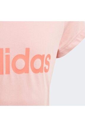 adidas YG E LIN TEE Pembe Kız Çocuk T-Shirt 101069152 3