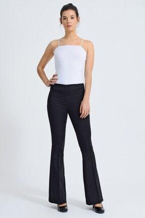 Jument Kadın Siyah Pantolon 40005 0
