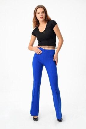 Jument Kadın Saks Mavisi Pantolon 2412 0