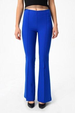 Jument Kadın Saks Mavisi Pantolon 2412 4