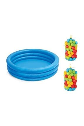 PİLSAN Intex 59416 Kristal Havuz Oyun Havuzu Topları 200 Adet 0