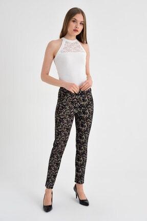 Jument Kadın Fuşya Çiçek Pantolon 40002 3