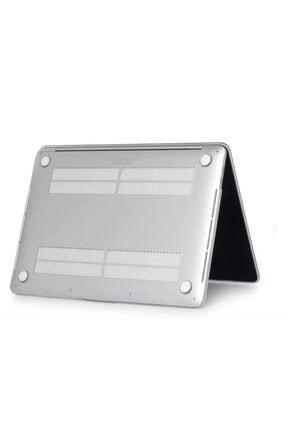 KIZILKAYA Apple Macbook Pro 2020 A2338 Beyaz 13 Inç Touch Bar Sert Kapak Koruma Kılıf 4