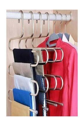 GÜLEN METAL 12 Adet 5 Katlı Pantolon Askısı 0
