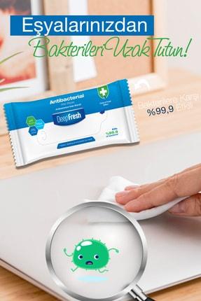 Deep Fresh Antibakteriyel Islak Cep Mendili 12'li Paket 180 Yaprak 3