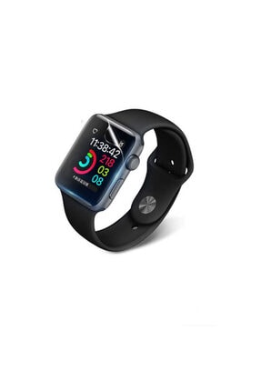 Zore Apple Watch 1 38mm Silikon Full Body Ekran Koruyucu 2