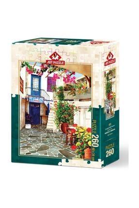 Art Puzzle 260 Parça Çiçekli Avlu 1