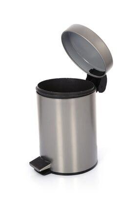 Cekinox Inox Pedallı Çöp Kovası Paslanmaz 5 Litre 2