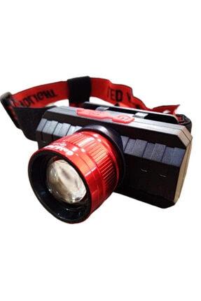 gaman GP-319 500 Lümen Cob Led Şarjlı Kafa LAmbası Şarjlı Kafa Feneri Zoomlu 1