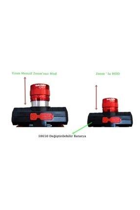 gaman GP-319 500 Lümen Cob Led Şarjlı Kafa LAmbası Şarjlı Kafa Feneri Zoomlu 3