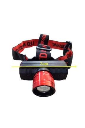 gaman GP-319 500 Lümen Cob Led Şarjlı Kafa LAmbası Şarjlı Kafa Feneri Zoomlu 4