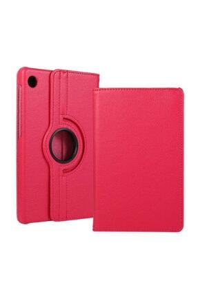 Huawei Matepad T10 Kılıf 360°dönebilen Deri Leather New Style Cover Case(pembe) 0