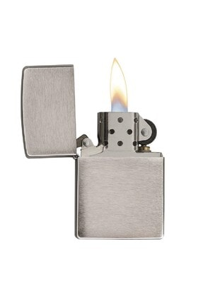 Zippo Çakmak Brush Finish Regular200 1