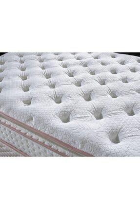 Royal Lüks Bedding Tavşan Tüyü Kumaş Full Ortopedik Pedli Yaylı Yatak 1