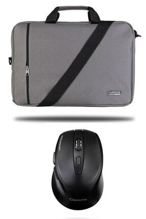 Picture of Bnd204 Gri Notebook Çantası+ T300 Kablosuz Mouse