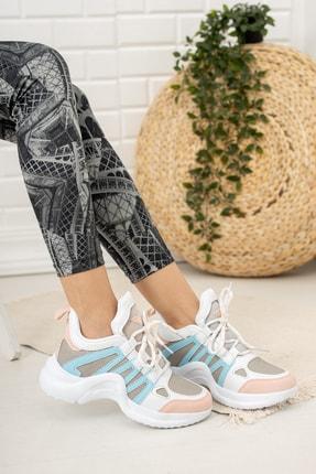 Moda Değirmeni Kadın Bebe Mavi  Sneaker Ayakkabı  Md1054-101-0001 0