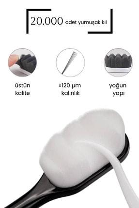 JUUKKA Siyah Ultra Yumuşak Diş Fırçası 3