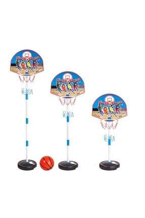 morponi Çocuk Basketbol Potası Yükseklik Ayarlanabilir Kutulu Ayaklı Basket Eğitim Potası 0