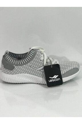 Lescon Kadın Beyaz Spor Ayakkabı 3