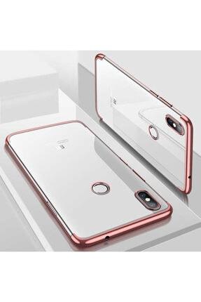 Dijimedia Xiaomi Mi 8 Köşeleri Renkli Şeffaf Kaliteli Kamera Korumalı Kılıf 4